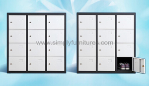 sport steel locker with 12doors