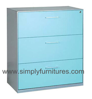 modern design colorful filing cabinet