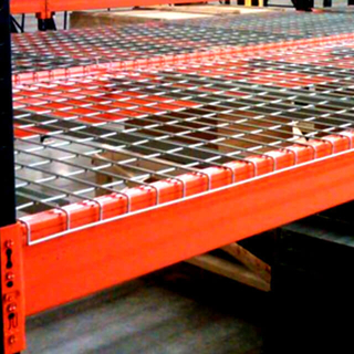 Cold Galvanized Wire Mesh Deck 1700lbs for Pallet Racking