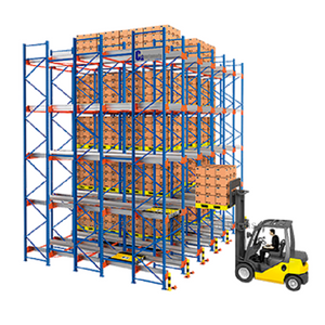 Food Beverage Drive in Industrial Storage Racks
