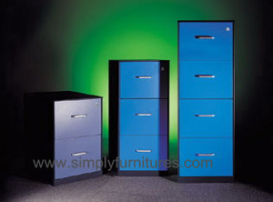 vertical storage colorful metal cabinet