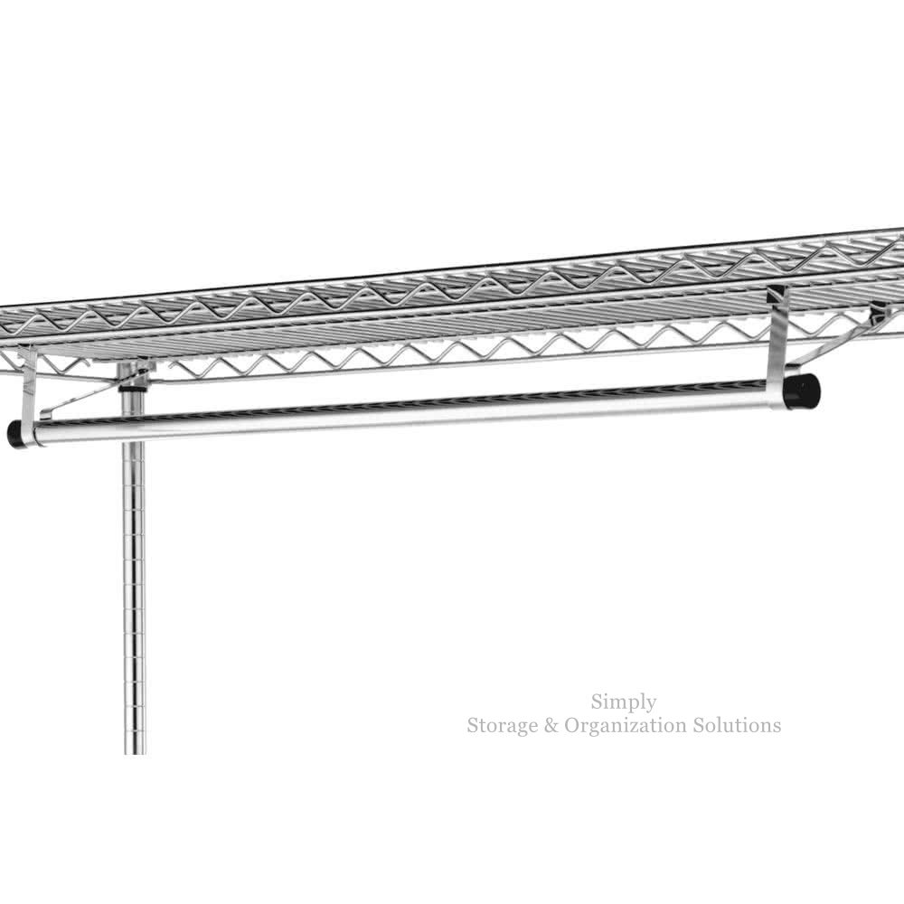 Garment Hanger Tube with Brackets