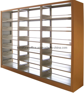 Library Bookshelf 2 Uprights (T8-MB2-06)