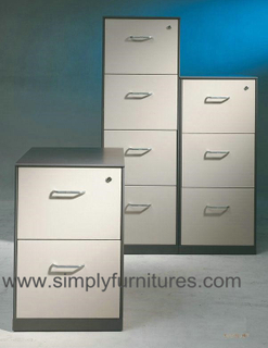 vertical metal drawer cabinet beige