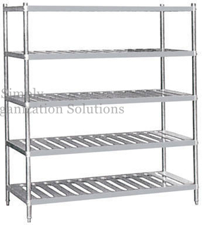 Hotel Kitchen Stainless Steel Rack High Corrosion Resistance
