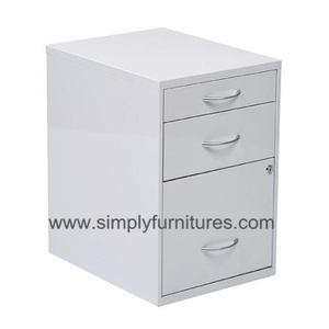 movable cabinet with 3 drawers