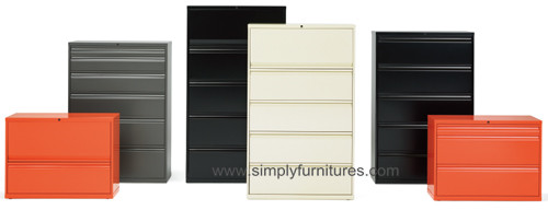 modern design filing cabinet colorful
