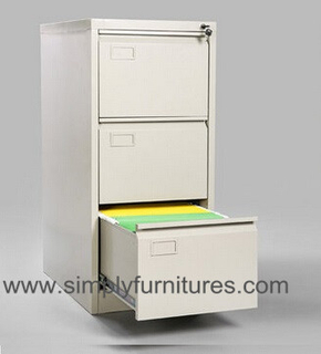 vertical office file cabinet white 3 drawers