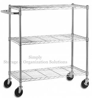 Lab Used Industrial Metal Shelving With Wheels