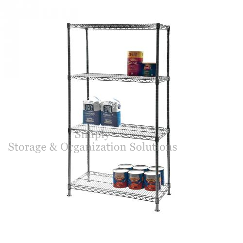 "Commercial Chrome-Plated Hygienic Wire Shelving Restaurant Use (30"" W X 14"" D X 60"" H)"