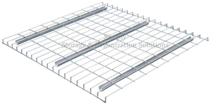 50x50 Grid U Channel Wire Mesh Decking for Heavy Duty Pallet Racking